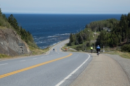 Cycling Gaspe