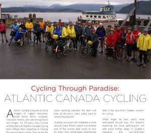 Cycling Through Paradise - Fine Lifestyles Halifax Magazine