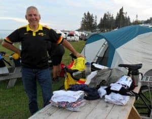 Henry Currie Gaspe Cycle Tour