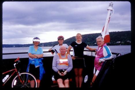 nova scotia bicycle tour joe rohaly