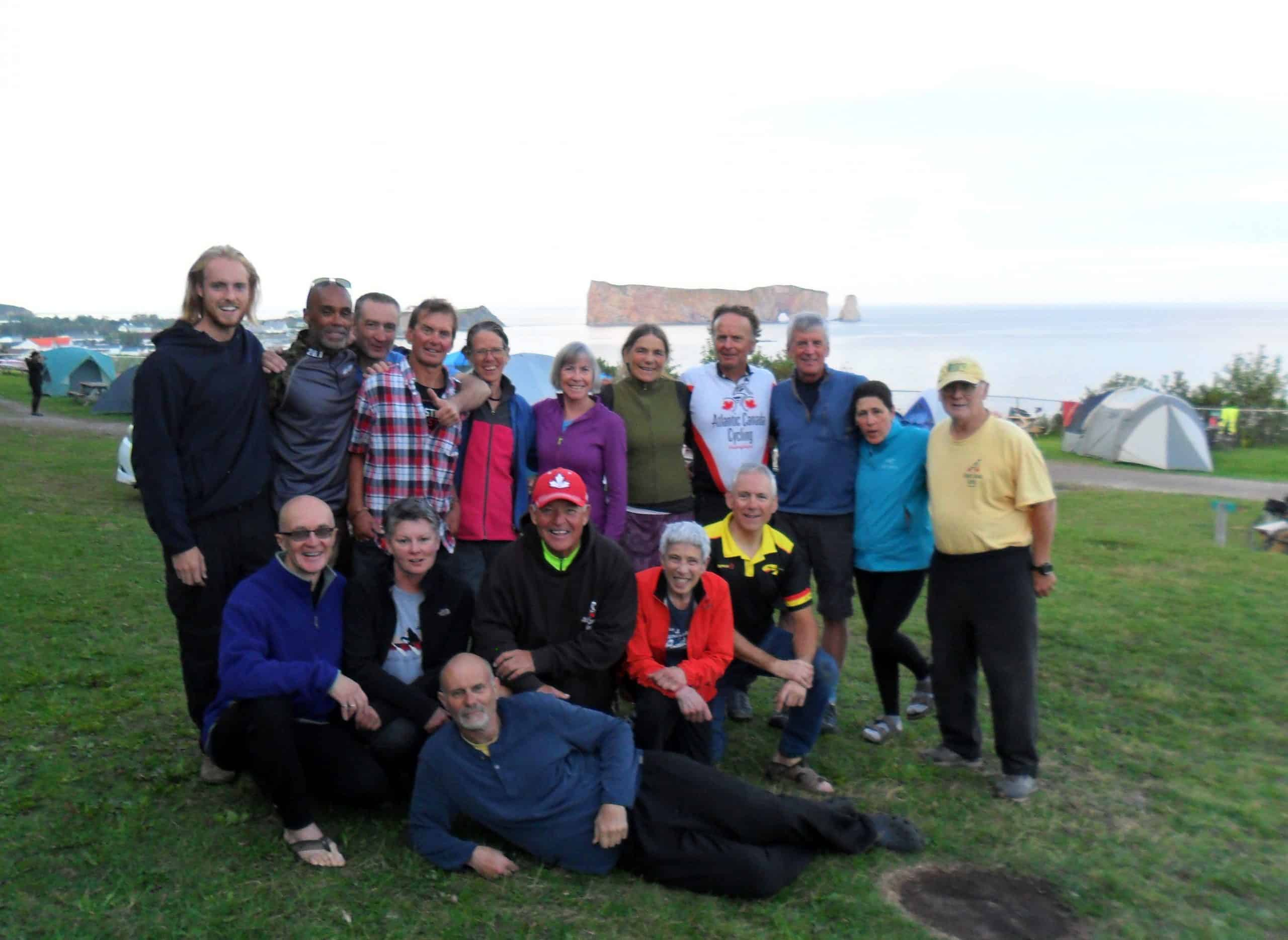 bicycle group gaspe tour 2019