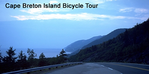 Cape Breton bicycle tour