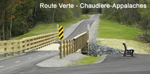 Route Verte - Chaudiere Appalaches bicycle tour