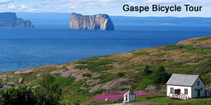 Gaspe Bicycle Tour bicycle tour