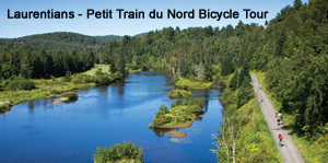 Laurentians – Petit Train du Nord Bicycle Tour Bicycle Tour