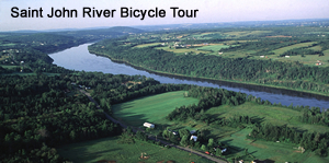 Saint John River bicycle tour