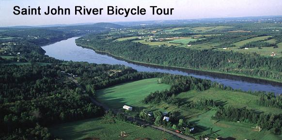 Saint John River Bicycle Tour